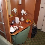 North Sea Ferries Club Cabin Dresser