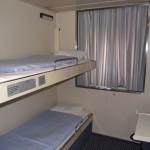 North Sea Ferries Standard Cabin